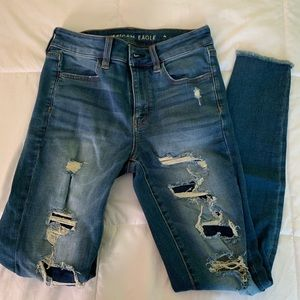 American Eagle High Waisted Jegging size 4